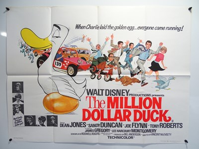 Lot 21 - MILLION DOLLAR DUCK (1971) Lot of 2 - British...