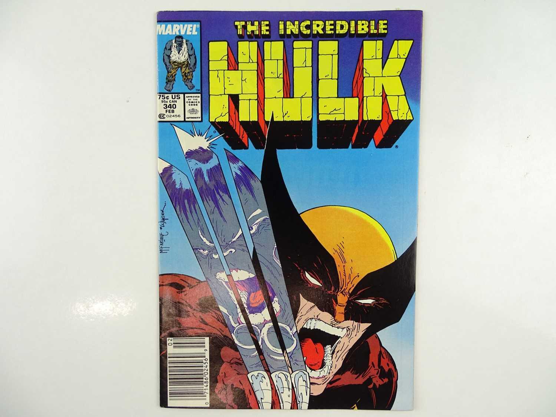 Lot 82 - INCREDIBLE HULK #340 - (1988 - MARVEL) -...
