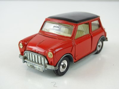 Lot 17 - A DINKY 183 Morris Mini-Minor (automatic) in...