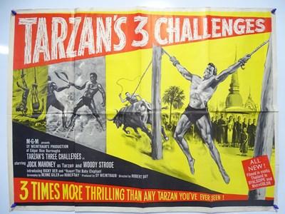 Lot 23 - TARZAN'S THREE CHALLENGES (1963) - British UK...