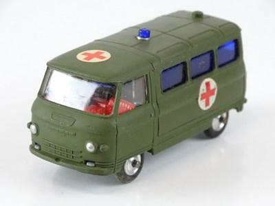 Lot 24 - A CORGI 354 Commer Military Ambulance - VG in...