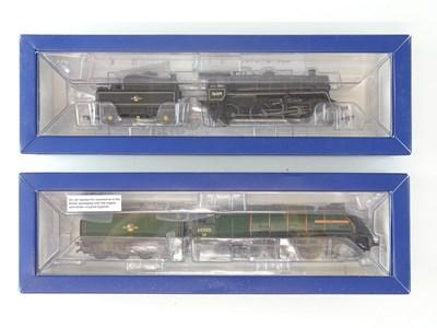 Lot 284 - A pair of BACHMANN OO Gauge steam locomotives...