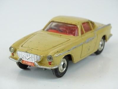 Lot 30 - A CORGI 228 Volvo P1800 in beige with red...