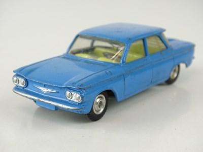 Lot 31 - A CORGI 229 Chevrolet Corvair in blue - F/G in...