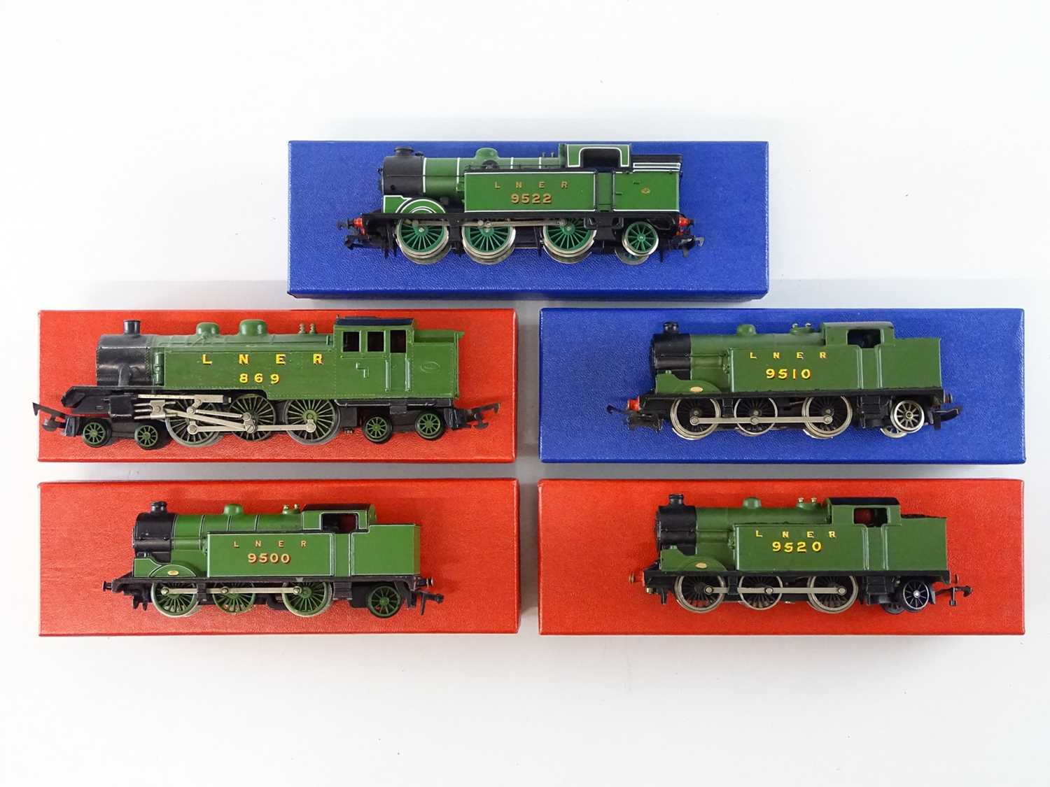 Lot 342 - A group of OO Gauge steam tank locomotives by...
