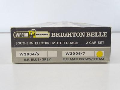 Lot 423 - A WRENN W3006/7 Brighton Belle 2 car electric...