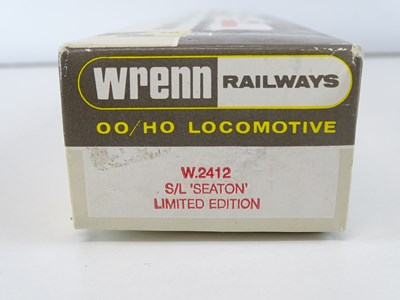 Lot 428 - A WRENN OO Gauge W2412 streamlined West...