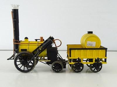 Lot 533 - A kit built finescale O Gauge Stephenson's...