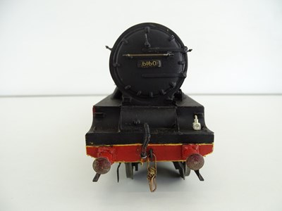 Lot 544 - A kit built finescale O Gauge Royal Scot Class...