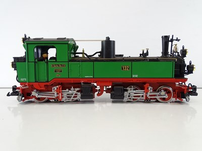 Lot 620 - An LGB G scale 20841 Mallet 0-4-4-0 steam...