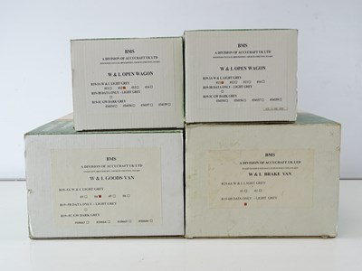 Lot 647 - A group of ACCUCRAFT / BMS G Scale Welshpool...