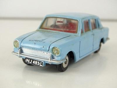 Lot 7 - A DINKY 162 Triumph 1300 in pale blue - G in G...