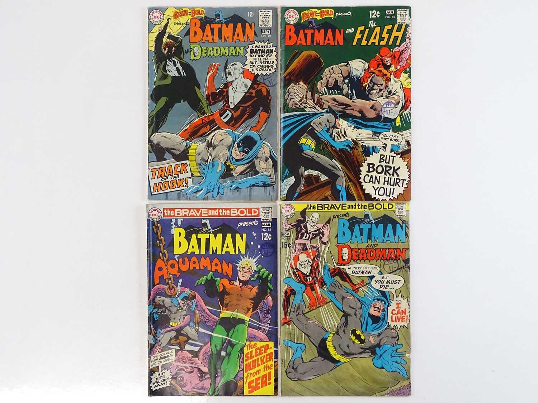 Lot 12 - BRAVE & BOLD: BATMAN & DEADMAN, FLASH &...