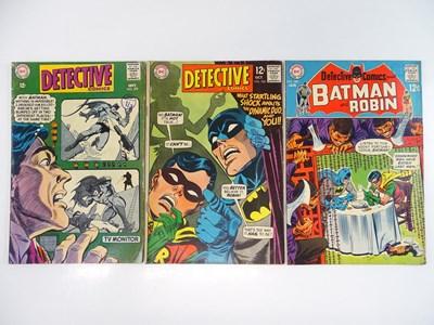 Lot 15 - DETECTIVE COMICS: BATMAN #379, 380, 383 - (3...