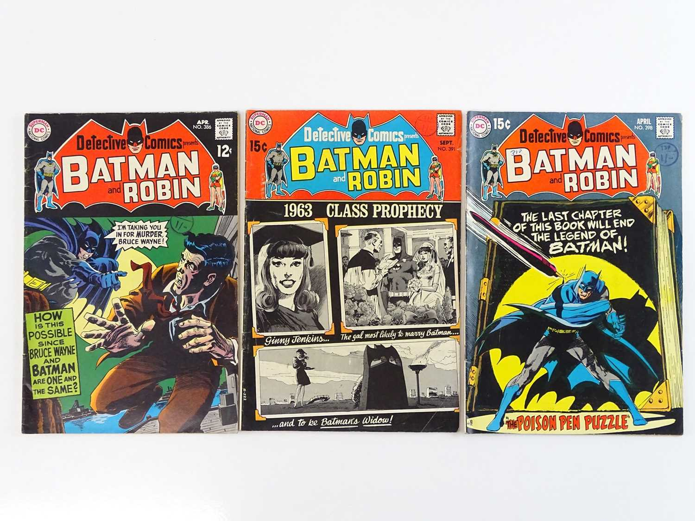 Lot 16 - DETECTIVE COMICS: BATMAN #386, 391, 398 - (3...