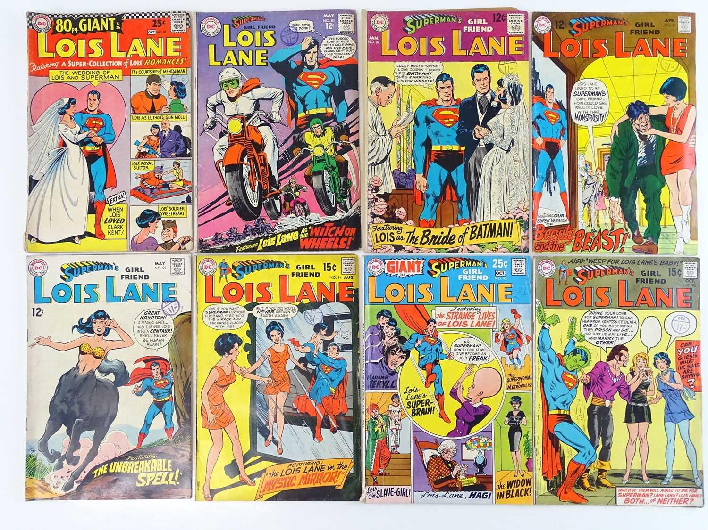 Lot 18 - SUPERMAN'S GIRLFRIEND: LOIS LANE #68, 83, 89,...