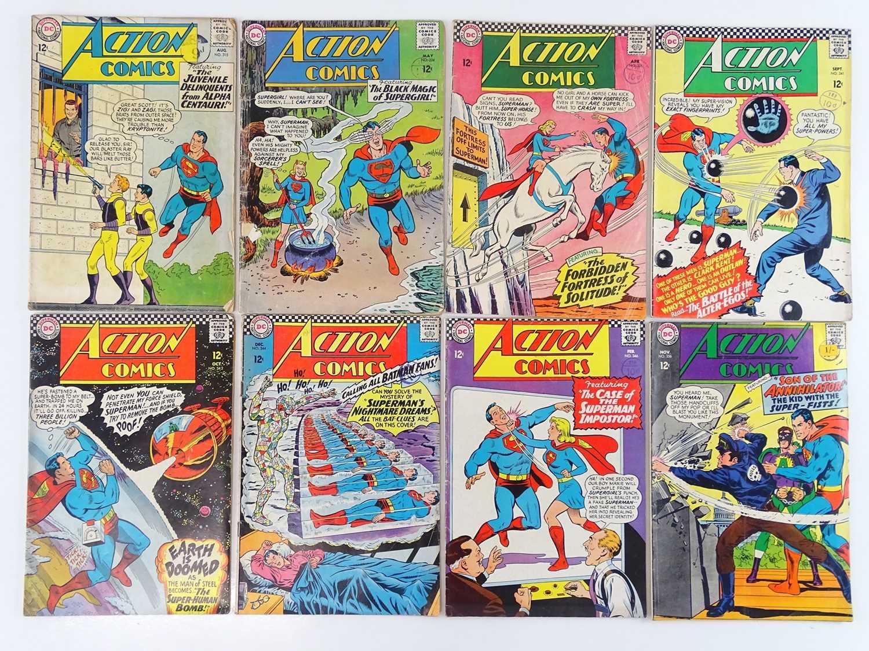 Lot 20 - ACTION COMICS: SUPERMAN #315, 324, 336, 341,...