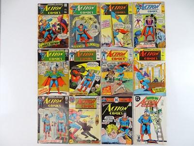 Lot 22 - ACTION COMICS: SUPERMAN #378, 379, 381, 384,...