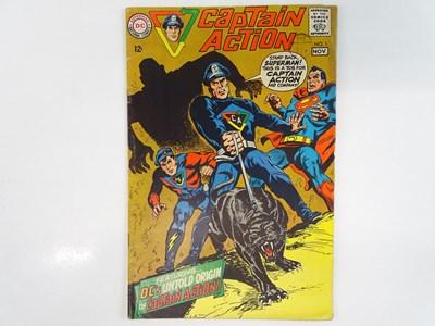 Lot 23 - CAPTAIN ACTION #1 - (1968 - DC - UK Cover...