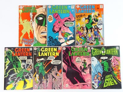 Lot 32 - GREEN LANTERN #60, 61, 66, 67, 71, 73, 75 - (7...