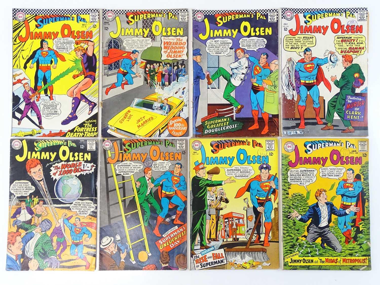 Lot 39 - SUPERMAN'S PAL: JIMMY OLSEN #97, 100, 102, 103,...