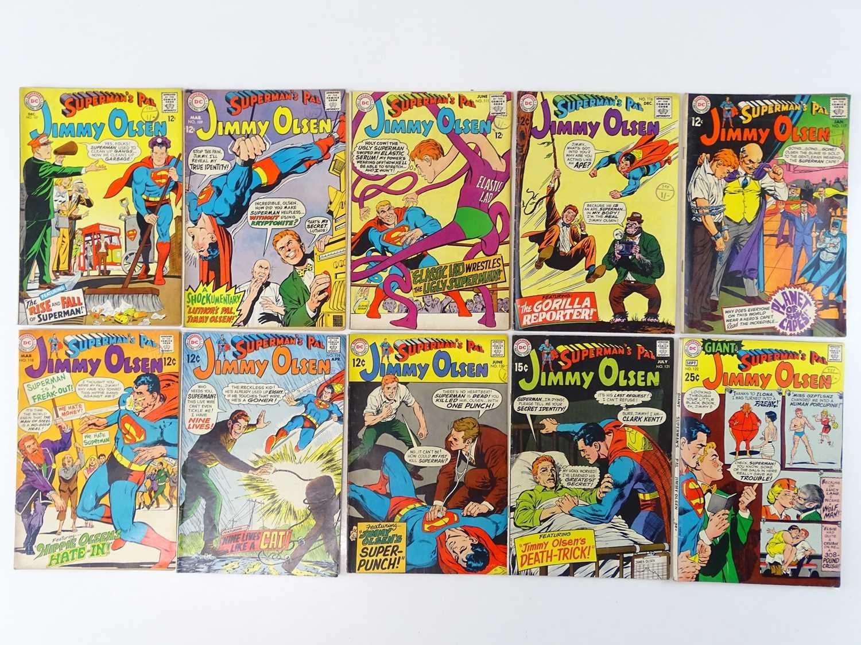 Lot 40 - SUPERMAN'S PAL: JIMMY OLSEN #107, 109, 111,...