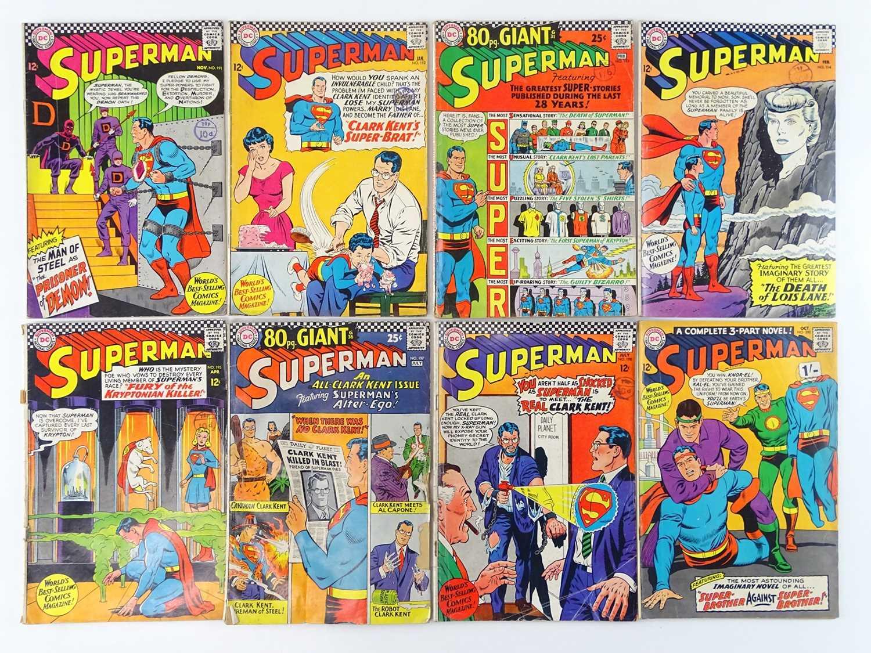 Lot 43 - SUPERMAN #191, 192, 193, 194, 195, 197, 198,...