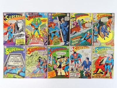 Lot 44 - SUPERMAN #194, 207, 209, 210, 211, 213, 214,...