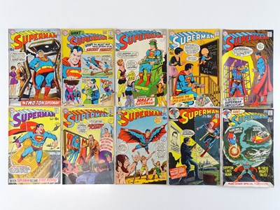 Lot 45 - SUPERMAN #221, 222, 223, 224, 225, 226, 228,...