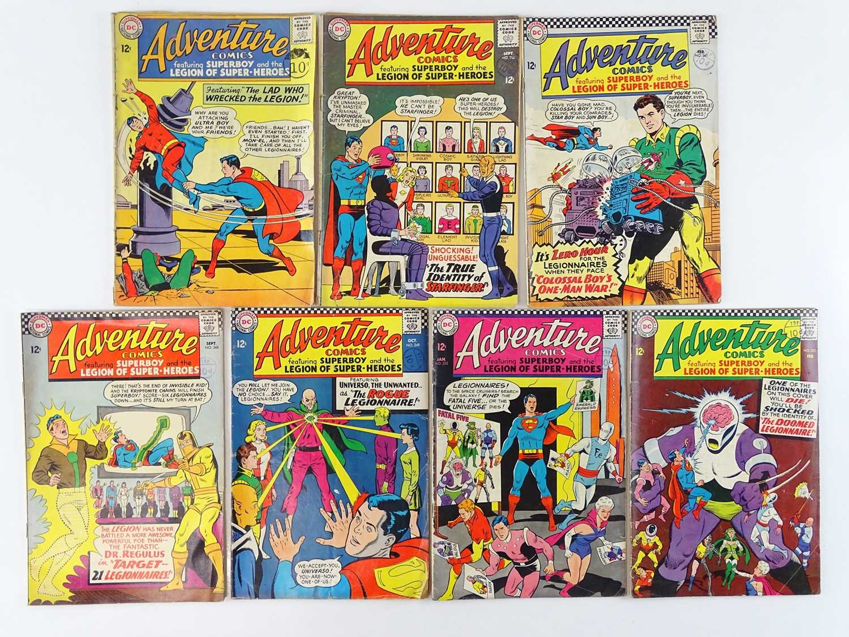 Lot 46 - ADVENTURE COMICS: SUPERBOY & THE LEGION OF...