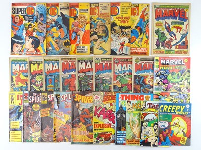 Lot 60 - MIXED LOT OF BRITISH MARVEL, DC & OTHER COMICS...
