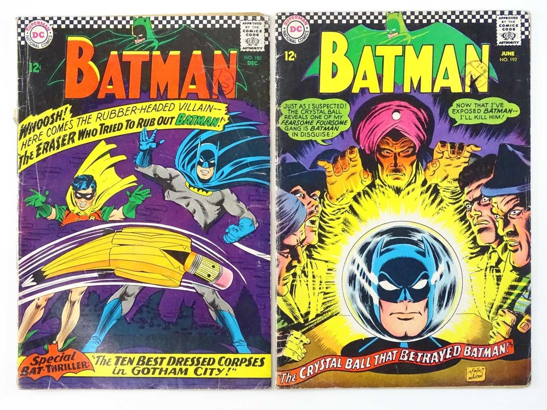 Lot 7 - BATMAN #188 & 192 - (2 in Lot) - (1966/67 - DC...