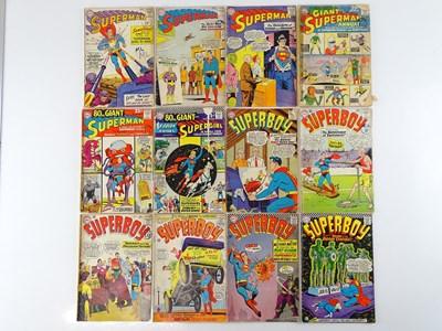 Lot 70 - SUPERMAN, SUPERGIRL & SUPERBOY LOT - (12 in...