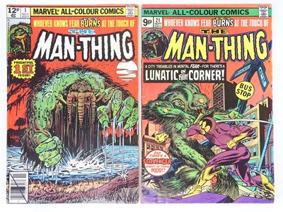 Lot 74 - MAN-THING #1 & 21 - (2 in Lot) - (1975/79...