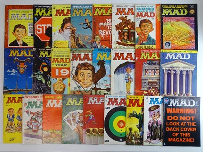 Lot 81 - LARGE QUANTITY OF MAD MAGAZINES (25 in Lot) -...