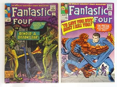 Lot 82 - FANTASTIC FOUR #37 & 42 - (2 in Lot) - (1965 -...