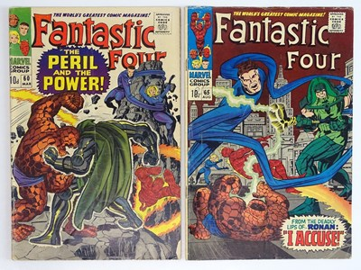 Lot 84 - FANTASTIC FOUR #60 & 65 - (2 in Lot) - (1967 -...