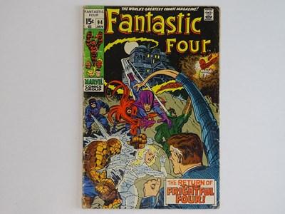 Lot 86 - FANTASTIC FOUR #94 - (1970 - MARVEL - UK Price...