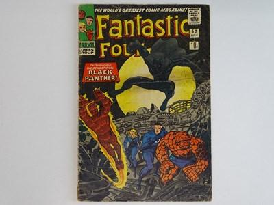 Lot 87 - FANTASTIC FOUR #52 (1966 - MARVEL - UK Price...