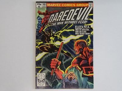 Lot 88 - DAREDEVIL #168 - (1980 - MARVEL - UK Price...