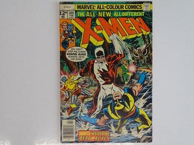 Lot 89 - UNCANNY X-MEN #109 - (1978 - MARVEL - UK Price...