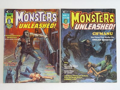 Lot 94 - MONSTERS UNLEASHED #6 & 7 - (2 in Lot) - (1974...