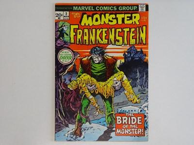 Lot 95 - MONSTER OF FRANKENSTEIN #2 - (1973 - MARVEL)...