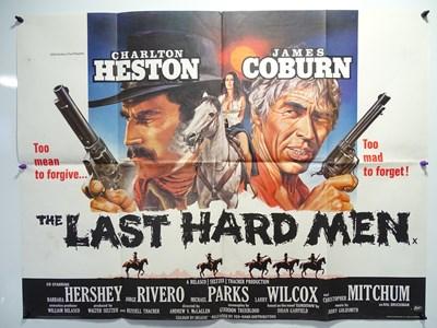 Lot 32 - THE LAST HARD MEN (1976) UK Quad film poster...