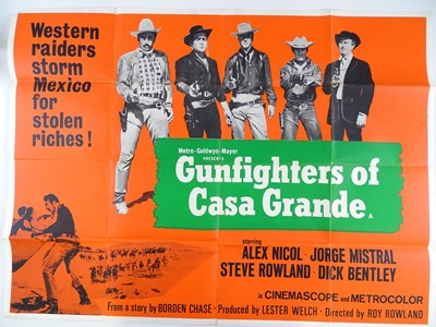 Lot 34 - A group of Western Film UK Quad film posters...