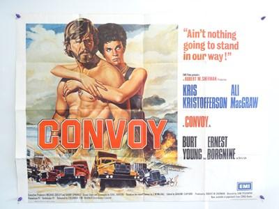Lot 47 - CONVOY (1978) - British UK Quad - Sam...