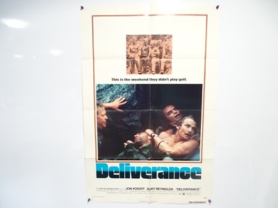 Lot 48 - DELIVERANCE (1972) - US One-Sheet Movie Poster...