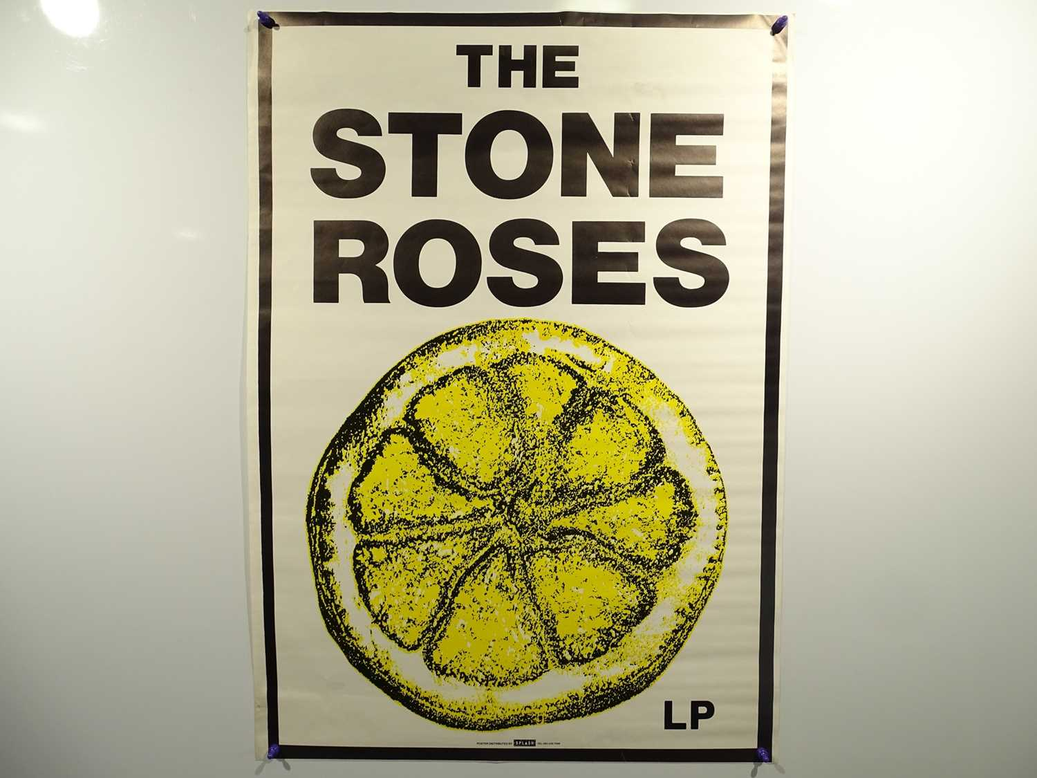 Lot 535 - STONE ROSES - Commercial music poster printed...