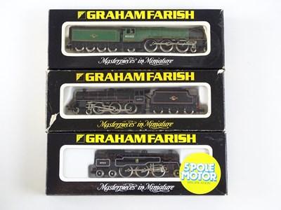 Lot 10 - A group of British Outline N Gauge steam...