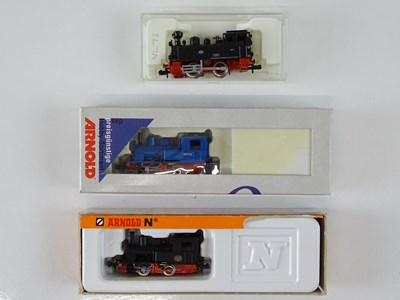 Lot 11 - A group of European Outline N Gauge small...